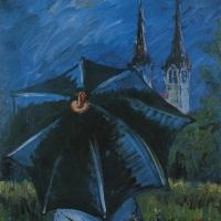 Dež v Polju